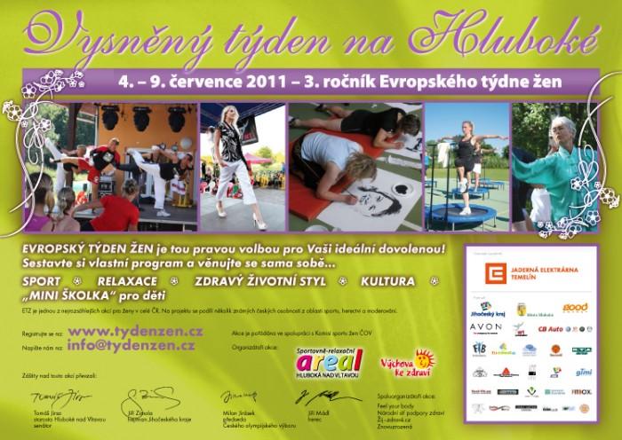 Evropský týden žen 2011