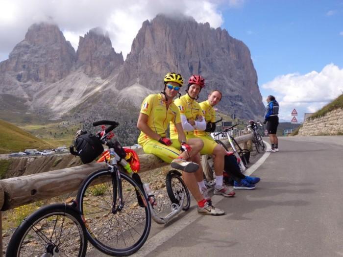 Etapa Giro d´Italia na koloběžce - obrazem