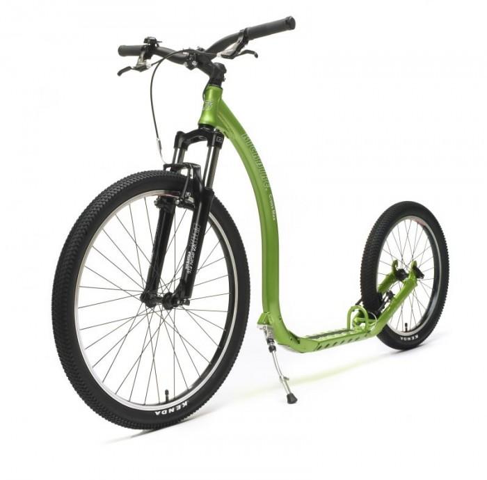 Kickbike CrossMAX 20V v zeleném provedení