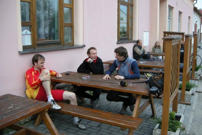 Zasloužený odpočinek po MS, Svijany 15 po cestě na Hlubokou
