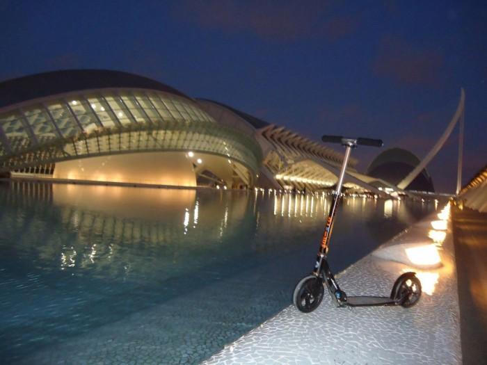 Black a Město umění a vědy ve Valencii