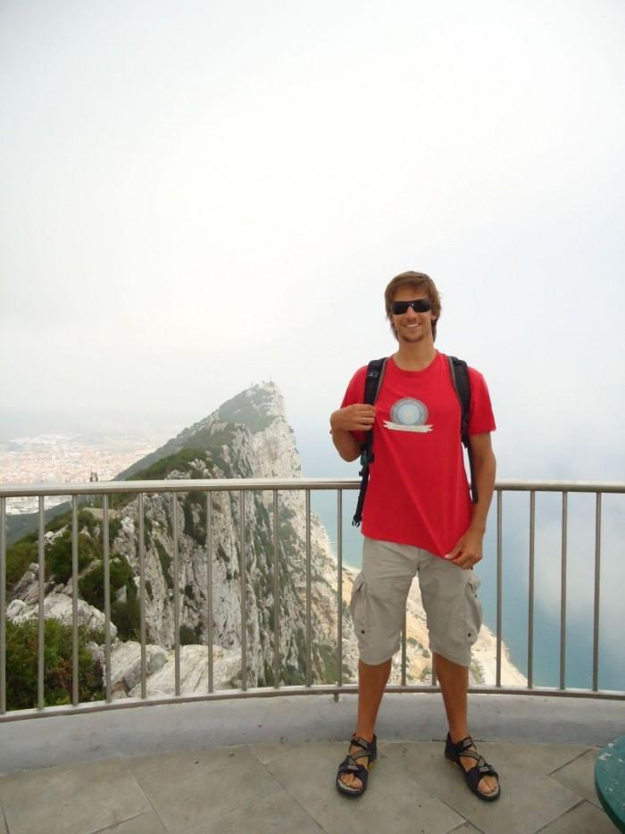 Pan Liška s Ultima tričkem na Gibraltaru