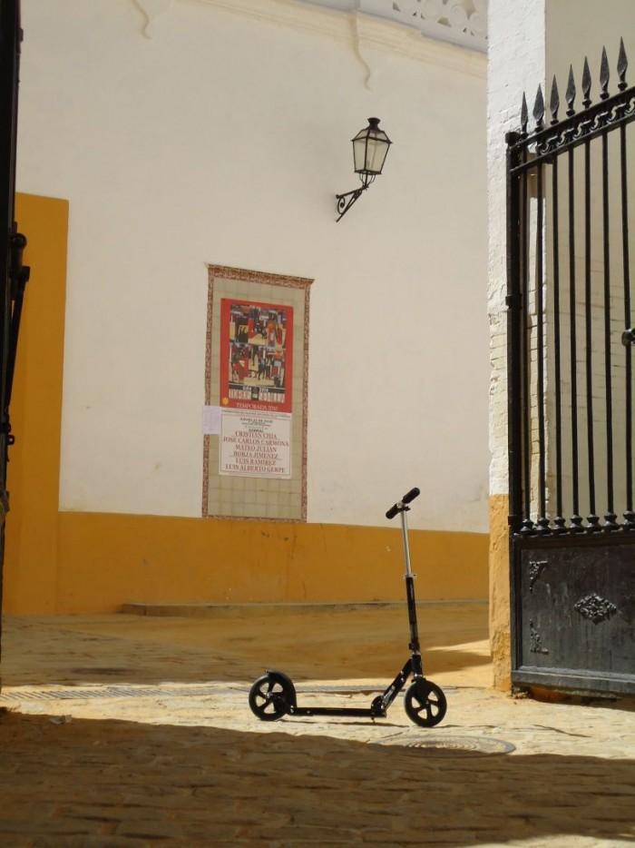 Black a Plaza del Torros v Seville