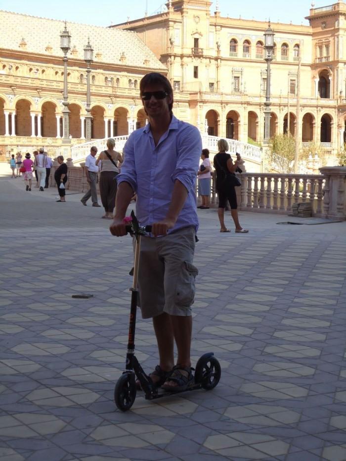 Pan Liška s Blackem v Seville