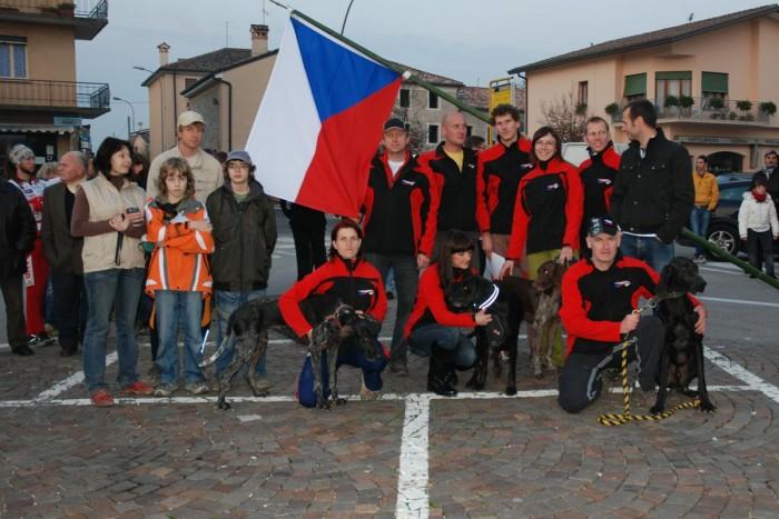 Český team na ME