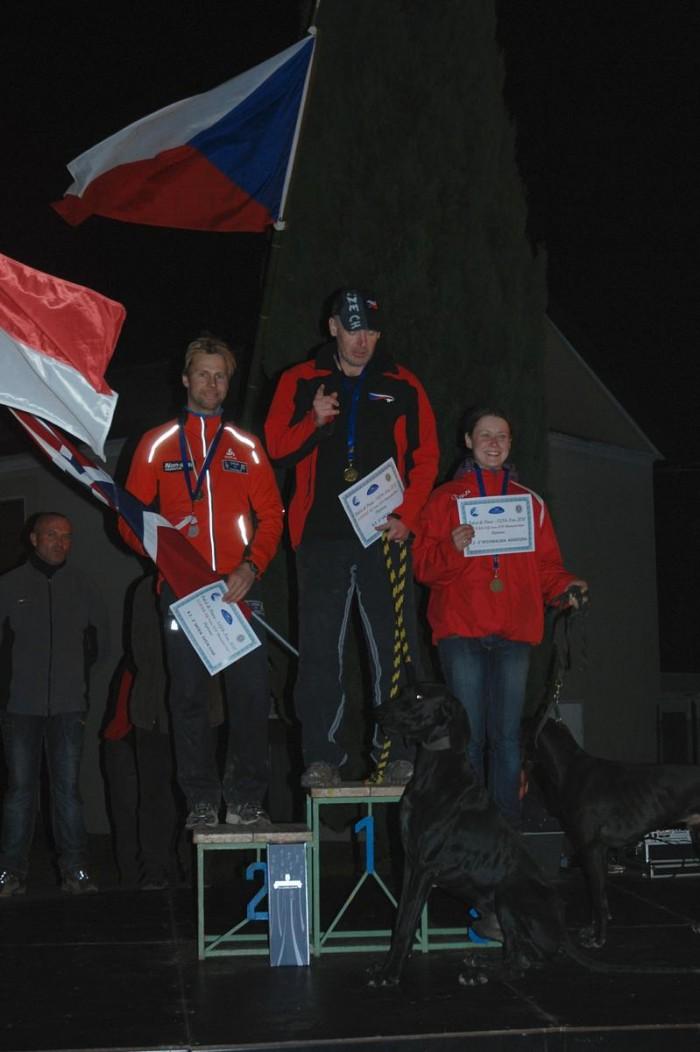 Ivo Vacke a zlatá medaile