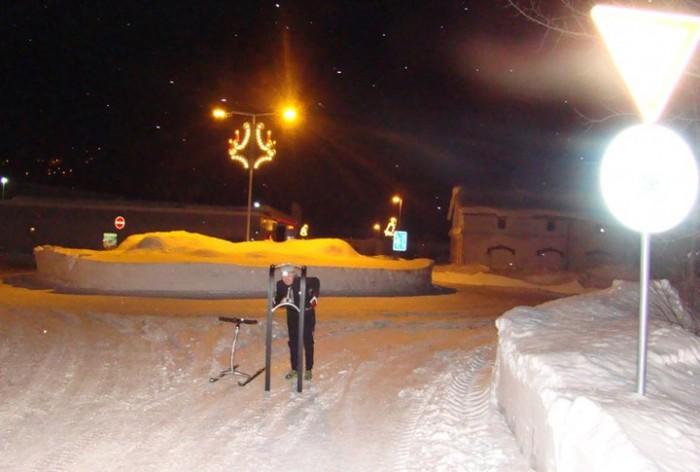 Sněhoběžka v českých podmínkách