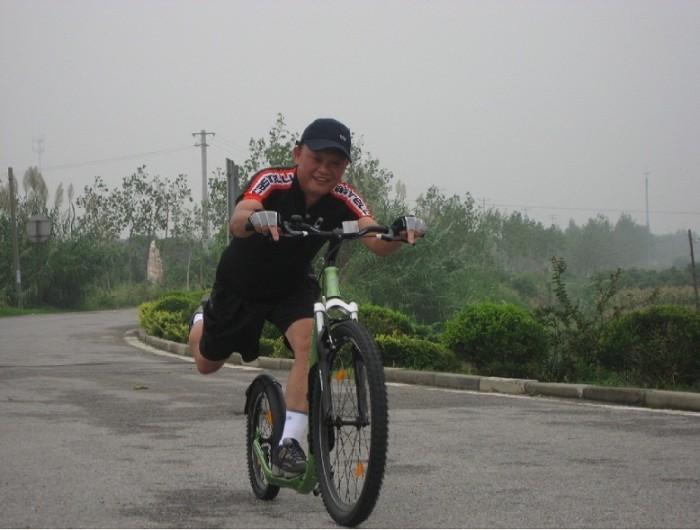 Koloběžkáři, díl I., Terry Lee -  Taiwan