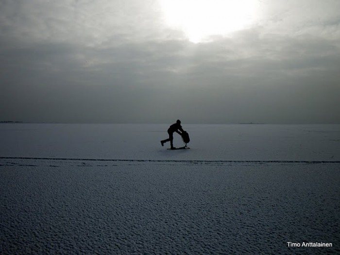 Zamrzlé moře ve Finsku