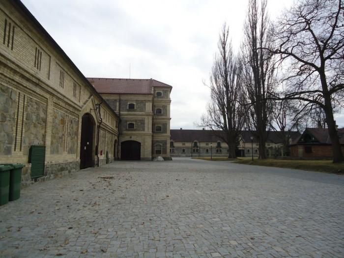 Vondrov - koňský dvůr nedaleko Hluboké nad Vltavou