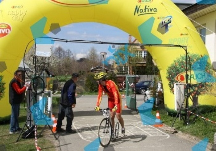 Cyklorájem Podralsko - první letošní triumf
