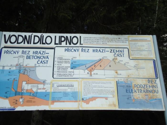 Trochu údajů o přehradě Lipno I.