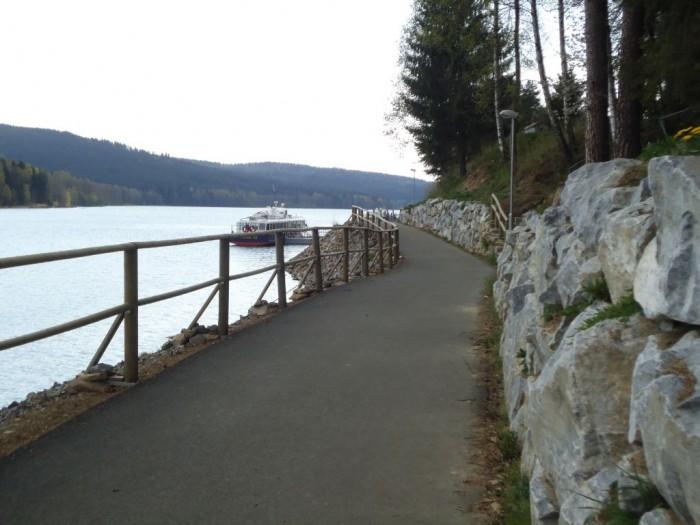 Cyklostezka Lipno nad Vltavou - Frymburk - PARÁDA!