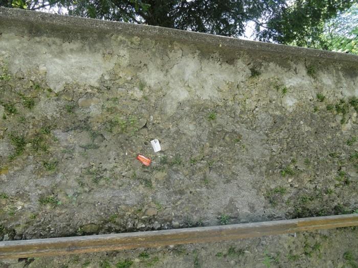 Světoznámá zeď vizitek v Salzburgu...