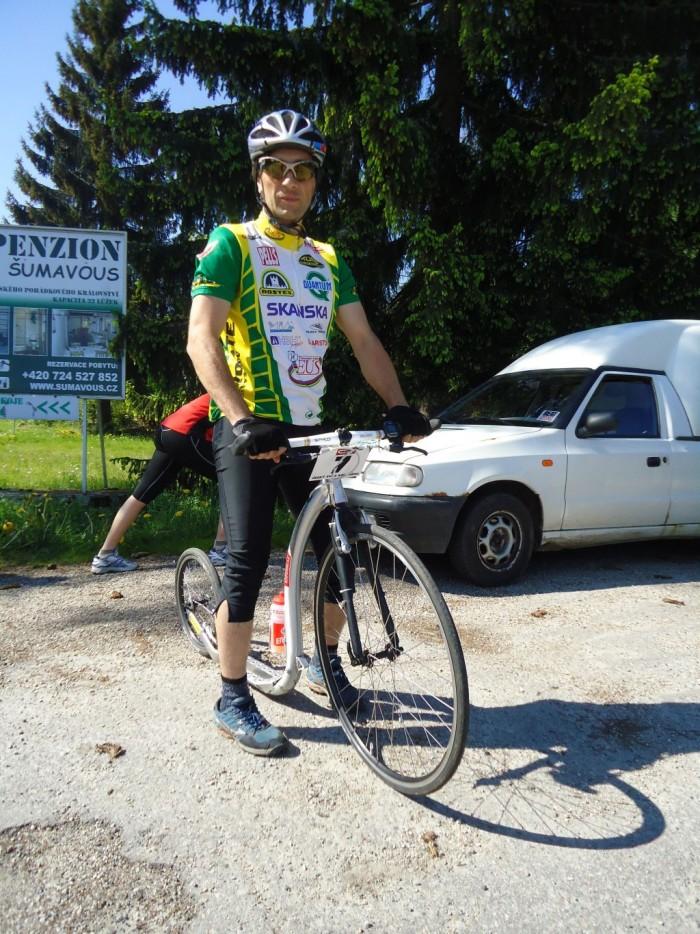 Jarda Jisl - opět s bolestmi před závodem, ale s odhodláním