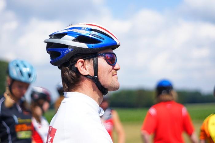 Vítěz 100km závodu na ledoběžce - Matti Pessala
