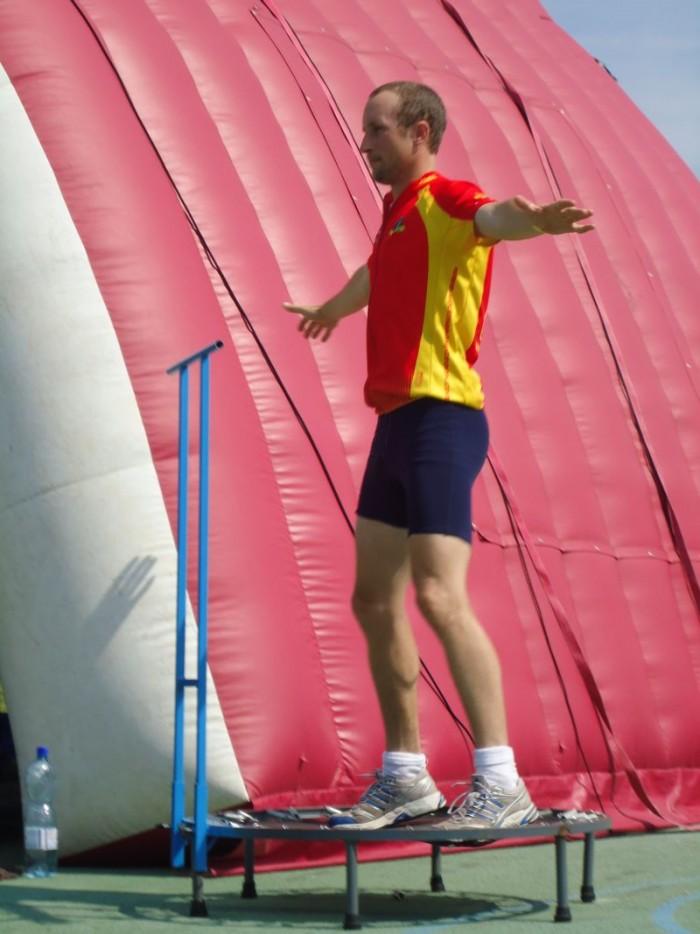 Ve volném čase pan Jaromír a jumping