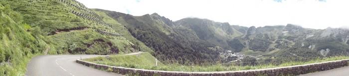 13. etapa Tour de France 2011 na koloběžce - peklo na Col d´Aubisque