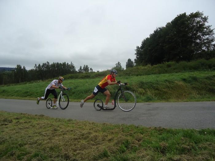 Vašek barák a jeho první závod