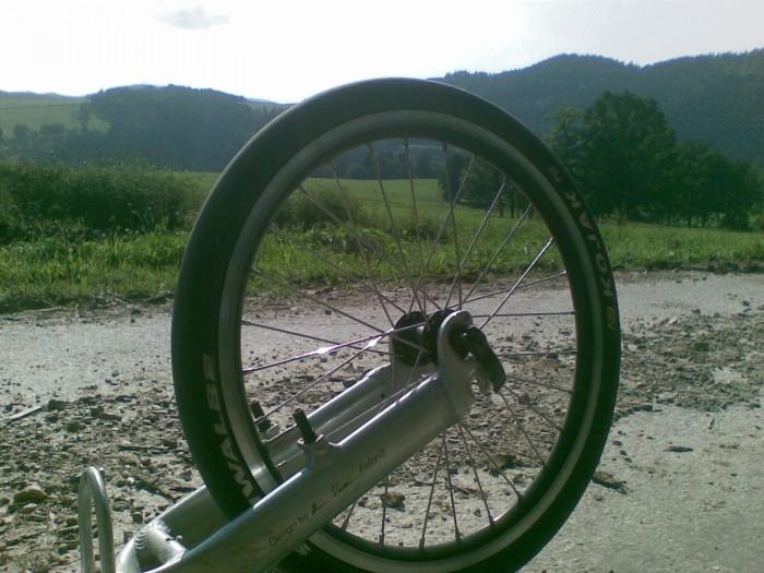 Cesta z Krumlova na Rožmberk