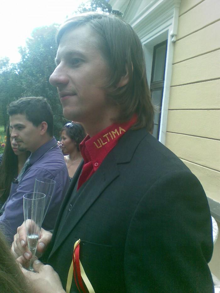 A závěrem pan Liška, alias pan Dvořák na svatbě