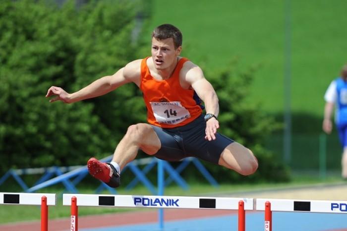 Vašek Barák atletickým mistrem ČR na 400m překážek