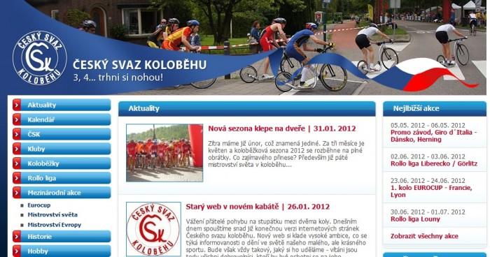 Nový web ČSK je na světě