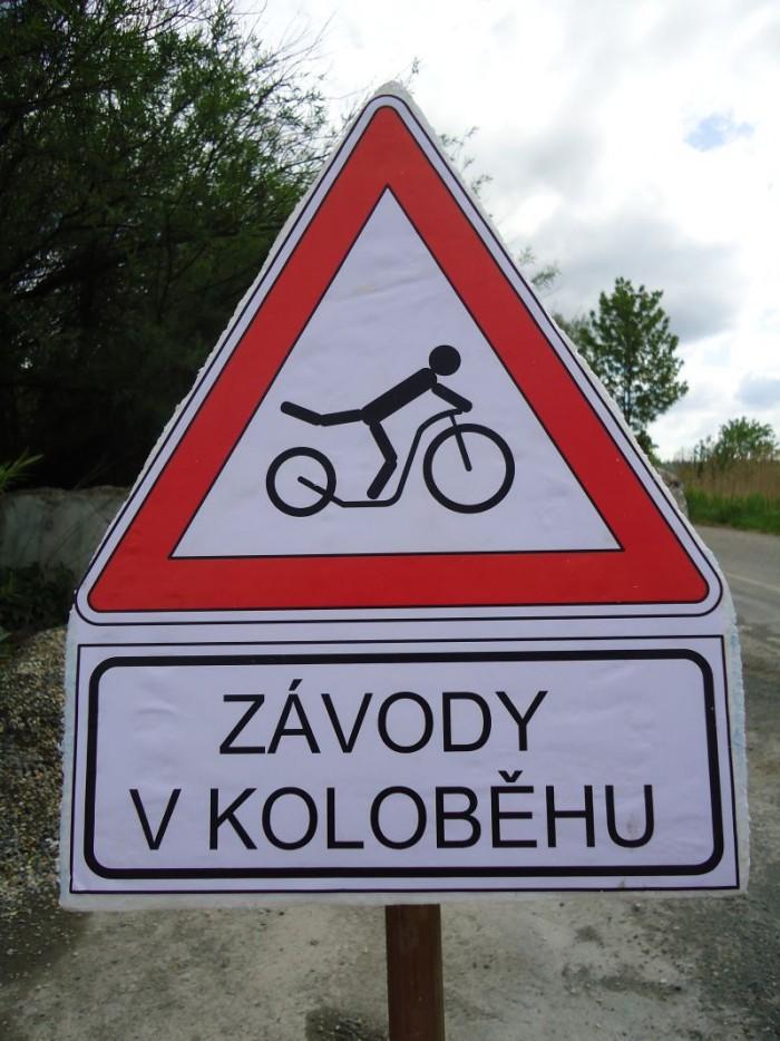 Moravská Třebová - 1.díl koloběžkové Rollo ligy 2012