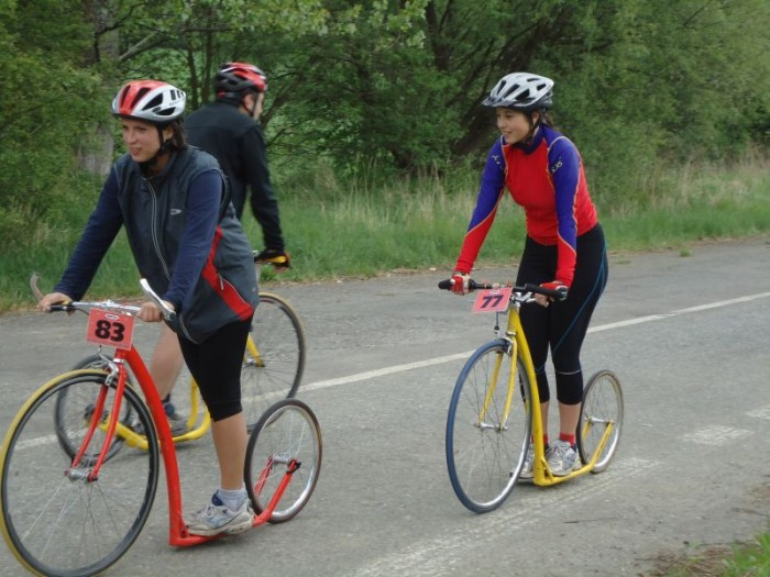 Dámy: Zdeňka Tlapová a Alenka Tlapa Kupilíková