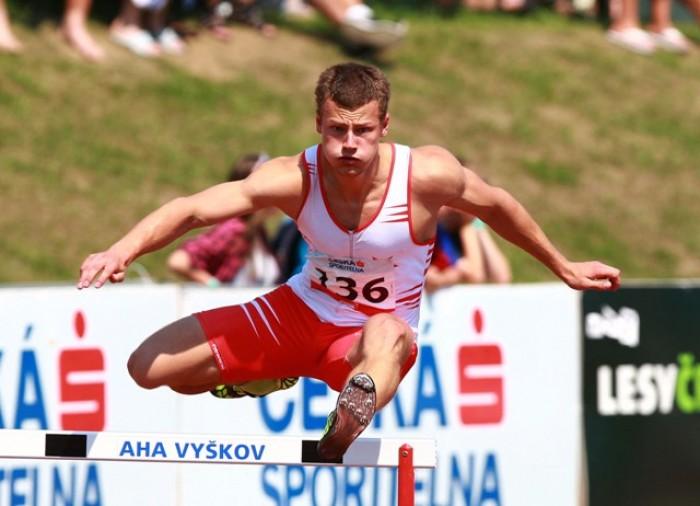 Vašek Barák vyhrává MČR a jede na ME v atletice