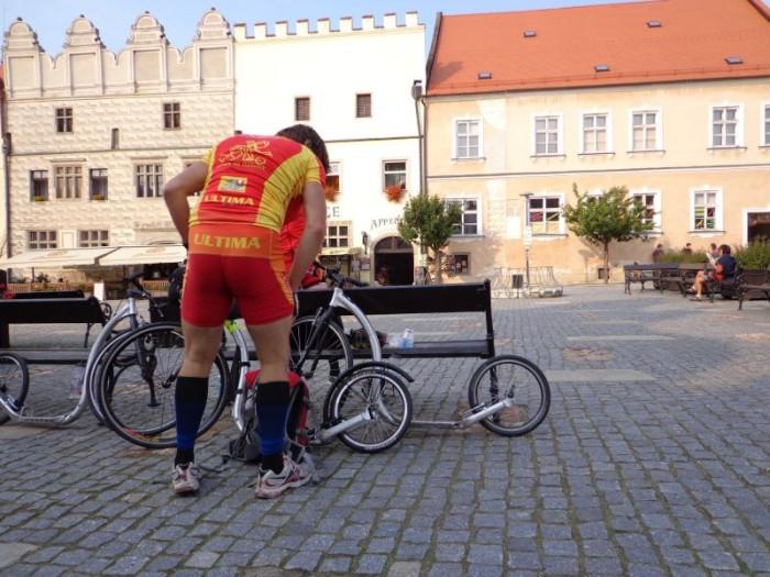 Náměstíčko ve Slavonicích a lehká siesta