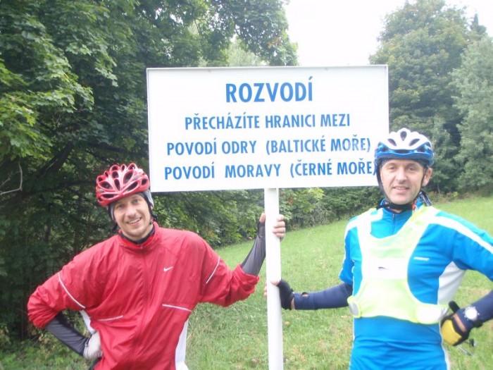 Kousek za Rýmařovem, cestou na Horní město...pánové Liška a Onderka