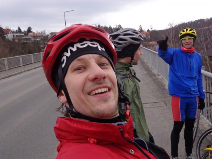 Zleva - pánové Liška, Karel a Jan