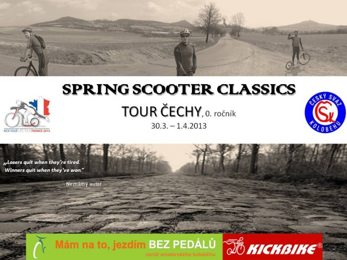 Tour Čechy - SPRING SCOOTER CLASSICS, 30.3.-1.4.