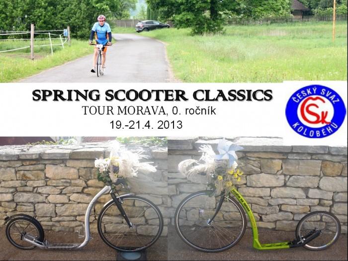 II.Díl SPRING SCOOTER CLASSICS - Tour Morava 19.-21.4.