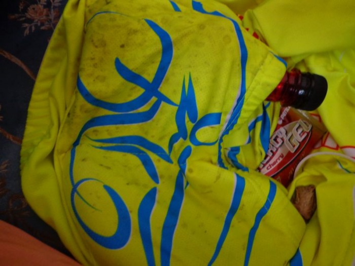 Zadní kapsa pana Lišky - gel PENCO, Fakeer a banán