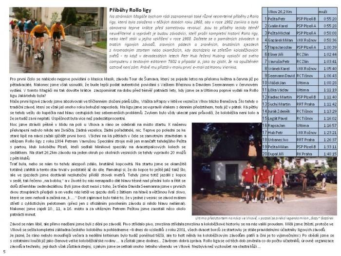 První číslo Koloběžkového Magáče - čtvrtletníku ze světa koloběhu je na světě