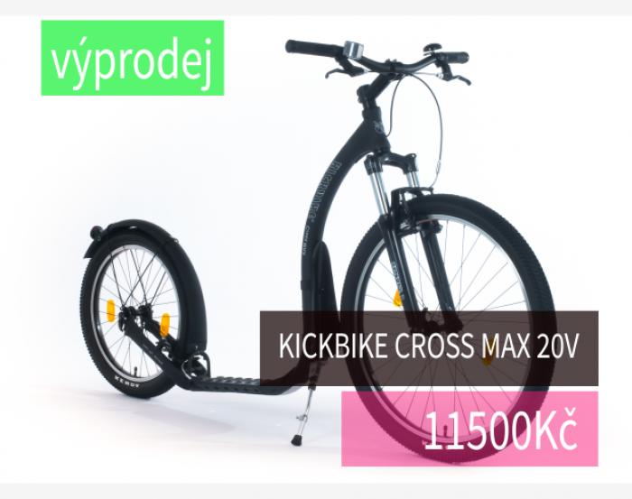 Základní terénní a musherská koloběžka Kickbike Cross MAX 20V