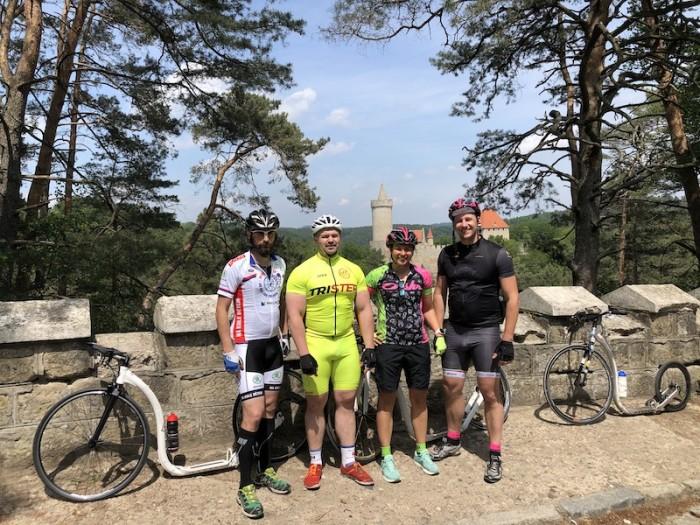 Láďa, Hulčík, Kristýnka a Václav